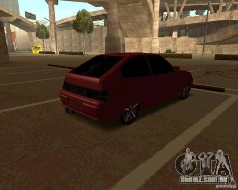 LADA 2112 Coupe, v. 2 para GTA San Andreas traseira esquerda vista