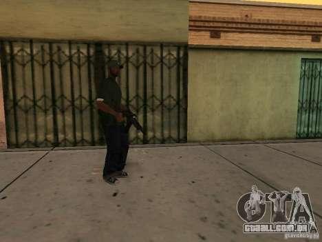 A capacidade de chamar uma Suite para GTA San Andreas terceira tela