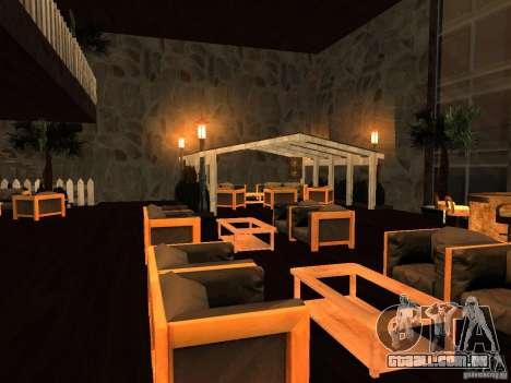 Clube sobre a água para GTA San Andreas terceira tela