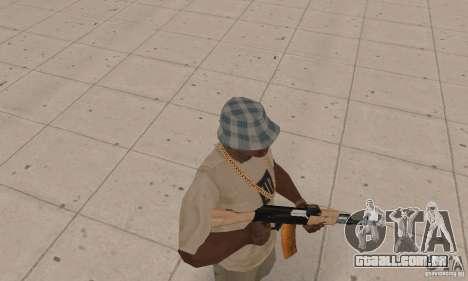 AK 47 para GTA San Andreas terceira tela