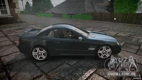 Mercedes Benz SL65 AMG V1.1 para GTA 4 vista lateral