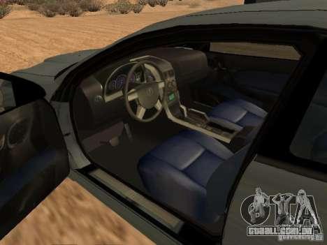 Vauxhall Monaro para GTA San Andreas traseira esquerda vista