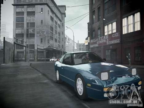 Nissan 240SX para GTA 4 vista direita