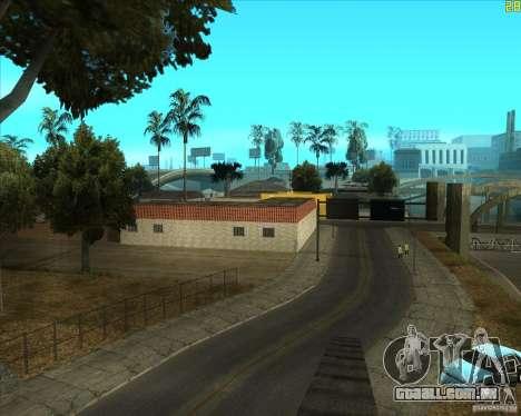 Bom velho ENBSeries para GTA San Andreas por diante tela