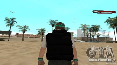 Skin Pack The Rifa Gang HD para GTA San Andreas nono tela