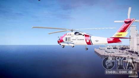 HH-60J Jayhawk para GTA 4 vista direita