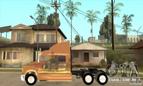 Peterbilt 387 pele 3 para GTA San Andreas esquerda vista