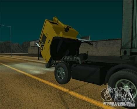 KAMAZ-54112 para GTA San Andreas traseira esquerda vista