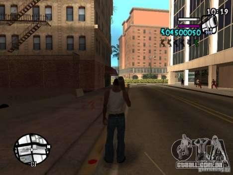 HUD by Hot Shot v.2 para GTA San Andreas segunda tela