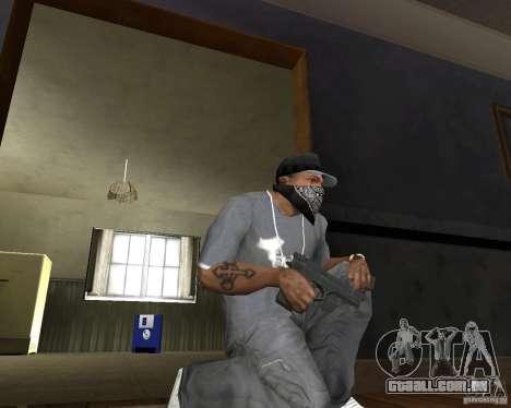 M9 para GTA San Andreas segunda tela