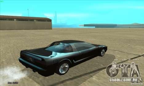 ENBSeries v4.0 HD para GTA San Andreas por diante tela