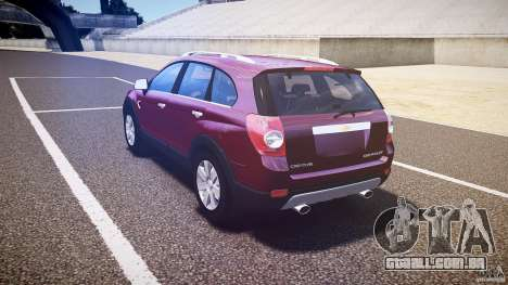 Chevrolet Captiva 2010 Final para GTA 4 vista direita