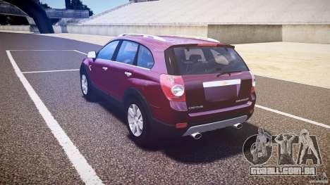 Chevrolet Captiva 2010 Final para GTA 4 vista direita