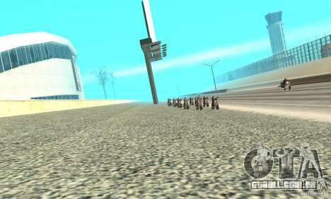 BikersInSa (os motociclistas em SAN ANDREAS) para GTA San Andreas terceira tela