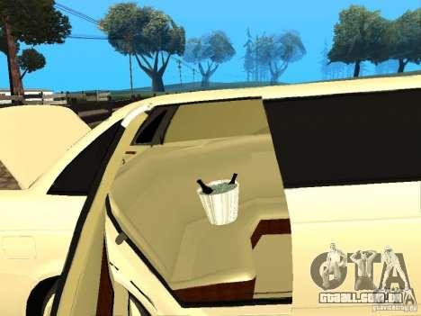 LADA Priora 2170 Limousine para GTA San Andreas vista traseira