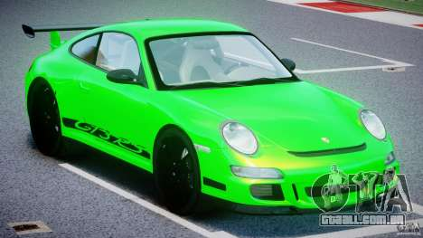 Porsche 997 GT3 RS para GTA 4 vista interior