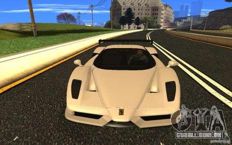 Ferrari Enzo ImVehFt para GTA San Andreas vista traseira
