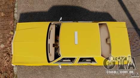 Ford LTD Crown Victoria 1987 L.C.C. Taxi para GTA 4 vista direita