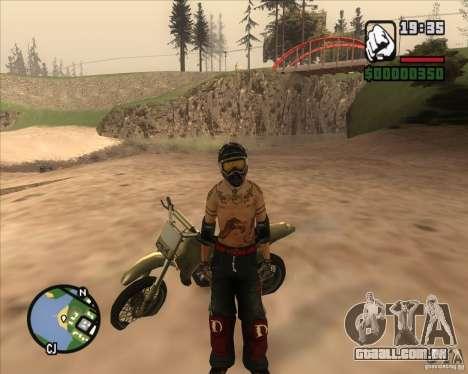 O racer do combustível para GTA San Andreas segunda tela