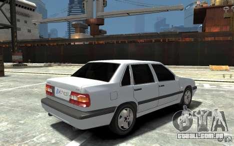 Volvo 850 Turbo 1997 para GTA 4 vista direita