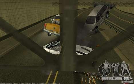 Acidente realista para GTA San Andreas segunda tela