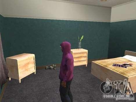 Hood para GTA San Andreas sexta tela