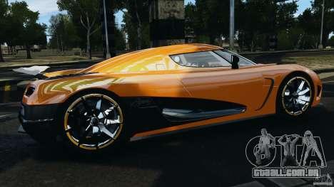 Koenigsegg Agera R v2.0 [EPM] para GTA 4 esquerda vista