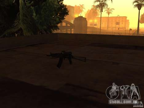 Armas de Pak nacionais para GTA San Andreas quinto tela