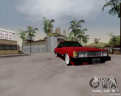Chevrolet Opala Diplomata 1986 para GTA San Andreas vista traseira