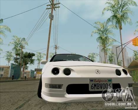 Acura Integra para GTA San Andreas vista direita