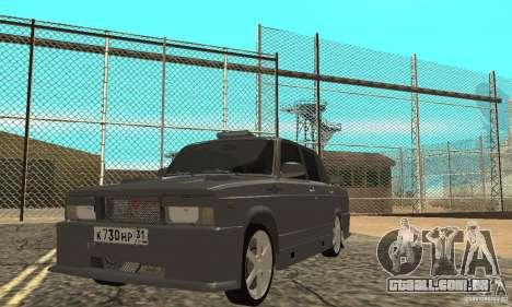 Caçador de noite 2105 VAZ para GTA San Andreas