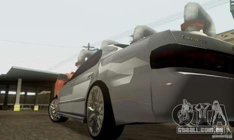 Toyota Cresta JZX90 para GTA San Andreas vista superior