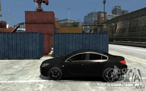 Opel Insignia OPC BETA para GTA 4 esquerda vista