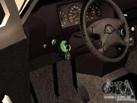 Armenian NIVA DORJAR 4 x 4 para GTA San Andreas vista interior