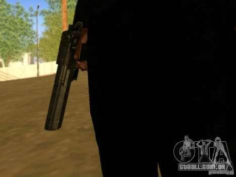 Desert Eagle MW3 para GTA San Andreas por diante tela