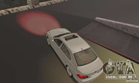 Luzes vermelhas para GTA San Andreas