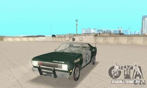Plymouth Duster 340 Police para GTA San Andreas