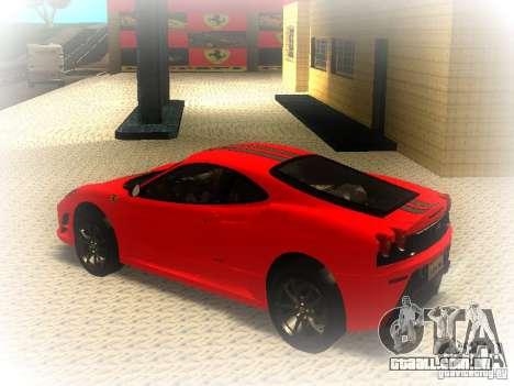Ferrari 430 Scuderia TT Black Revel para GTA San Andreas esquerda vista