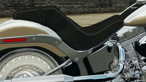 Harley Davidson Softail Fat Boy 2013 v1.0 para GTA 4 vista lateral