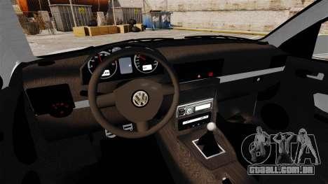 Volkswagen Golf Flash Edit para GTA 4 vista interior