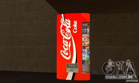 Cola Automat 3 para GTA San Andreas