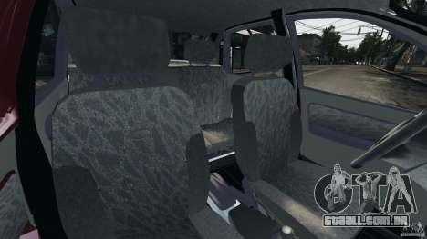Vaz-1118 Kalina v 1.1 para GTA 4 vista interior