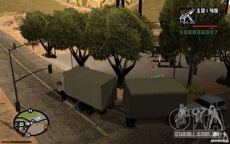 Painel ativo v. 3.2 (b) para GTA San Andreas sexta tela