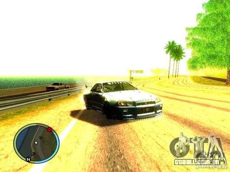 Nissan Skyline B324R para GTA San Andreas esquerda vista