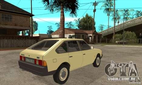 2141 AZLK para GTA San Andreas vista direita