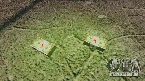 Notas dos Estados Unidos nas notas de $ 1 para GTA 4 segundo screenshot