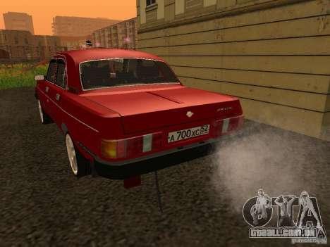 Volga GAZ 31029 Sl para GTA San Andreas vista direita