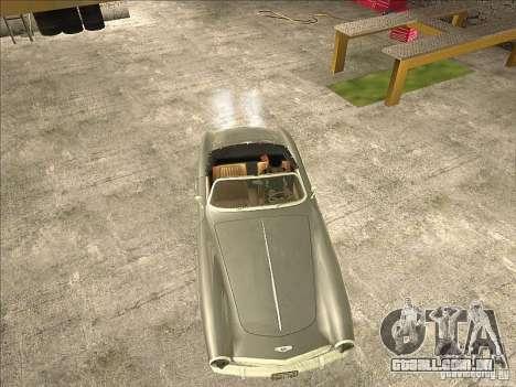 IWS 508 para GTA San Andreas vista traseira