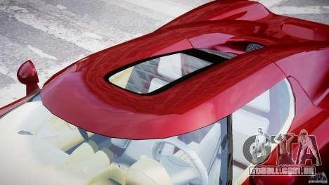 Koenigsegg CCRT para GTA 4 vista inferior