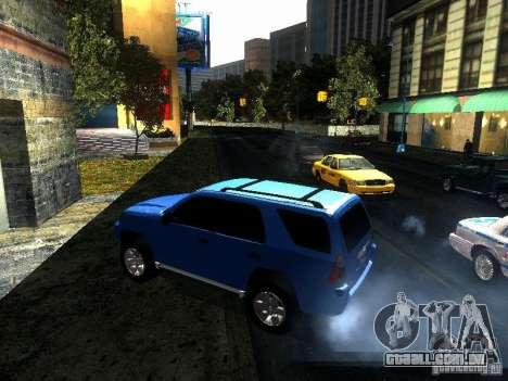 Toyota 4Runner 2009 para GTA San Andreas esquerda vista